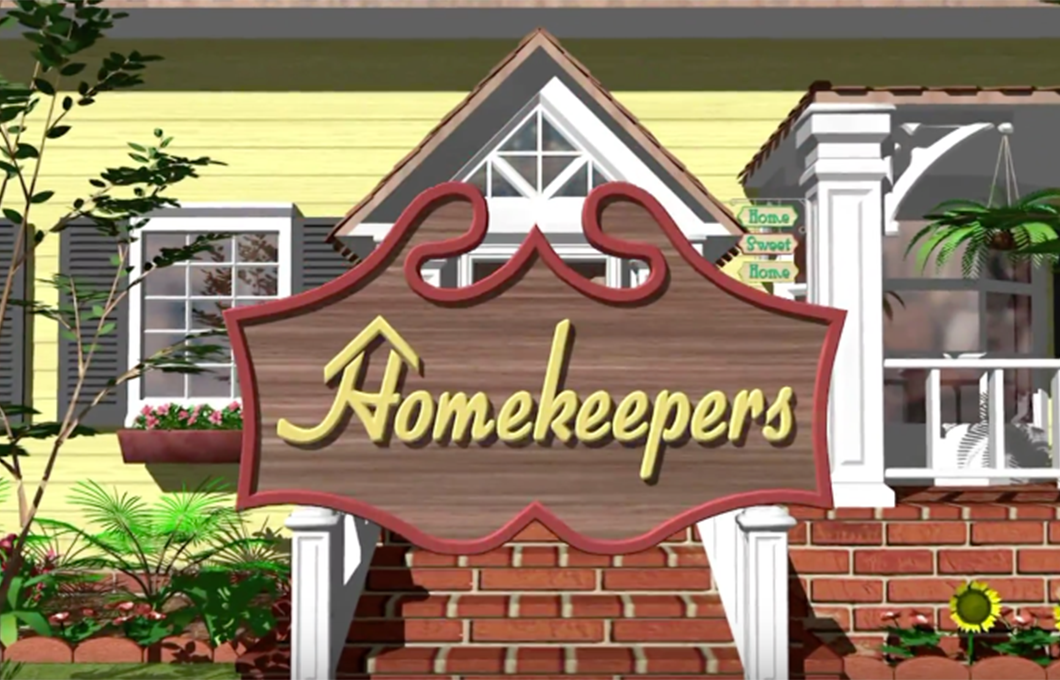 Home keepers title card